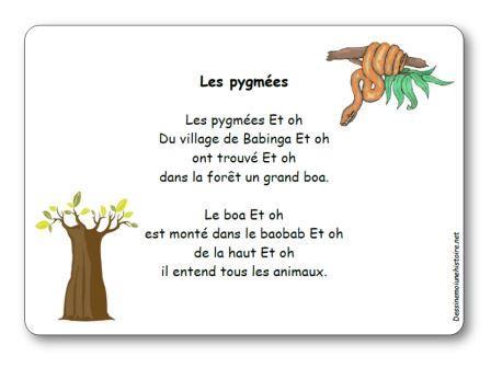 Comptine Les pygmées