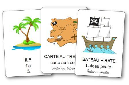 Imagier des pirates, imagier pirates maternelle