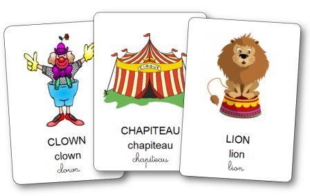 Imagier du cirque, Imagier cirque