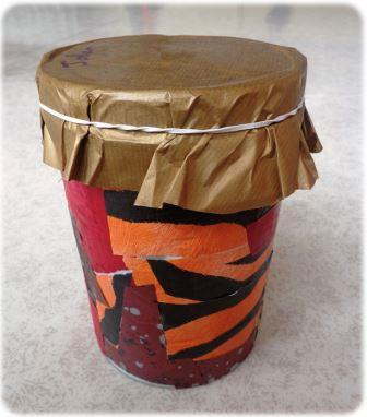 Fabriquer un tambour africain