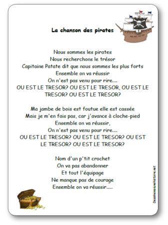 La chanson des pirates