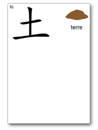 Caractère chinois Terre Atelier Pâte à modeler