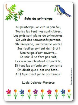 Poésie Joie du printemps de Lucie Delarue Mardrus