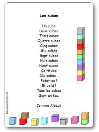 Poésie Les cubes de Corinne Albaut