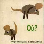 Lien Amazon Où ? de Léo Lionni, albums espace maternelle