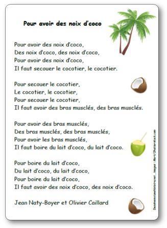Chanson Les noix de coco Jean Naty Boyer et Olivier Caillard