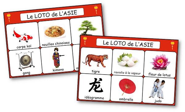 Loto Asie, loto Chine
