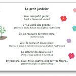 Comptine Le petit jardinier