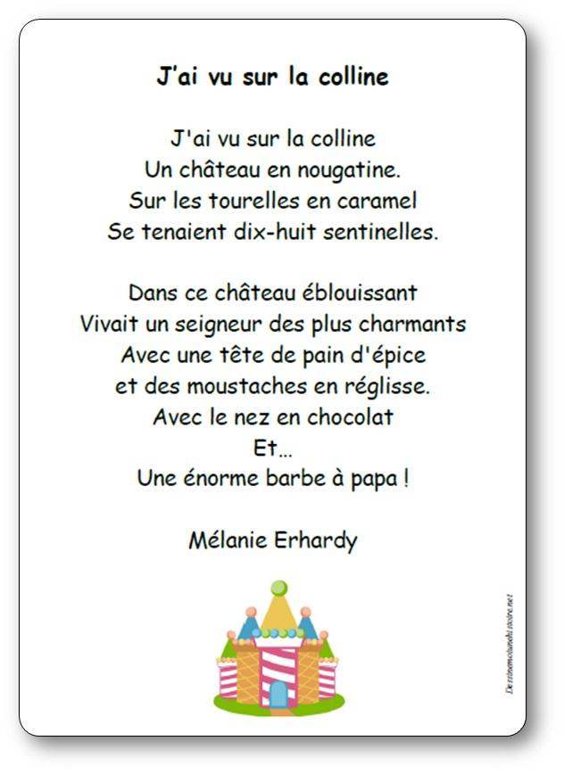 J'ai vu sur la colline de Mélanie Erhardy