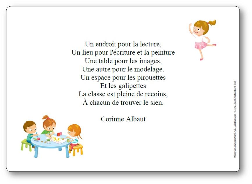 Un endroit pour la lecture de Corinne Albaut