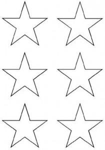 image découpage étoile