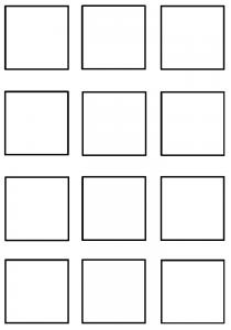 image découpage carré 1, Découpage moyenne section maternelle carré 1