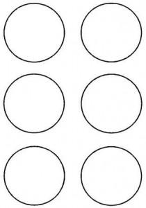 image découpage cercle