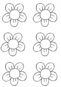 Coloriage Fleur Tps.L Activite De Decoupage En Maternelle Ps Ms Gs A Imprimer
