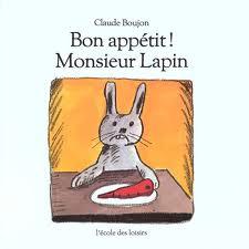 couverture album Bon appétit Monsieur lapin