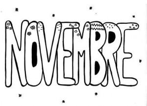 image mois de novembre graphisme