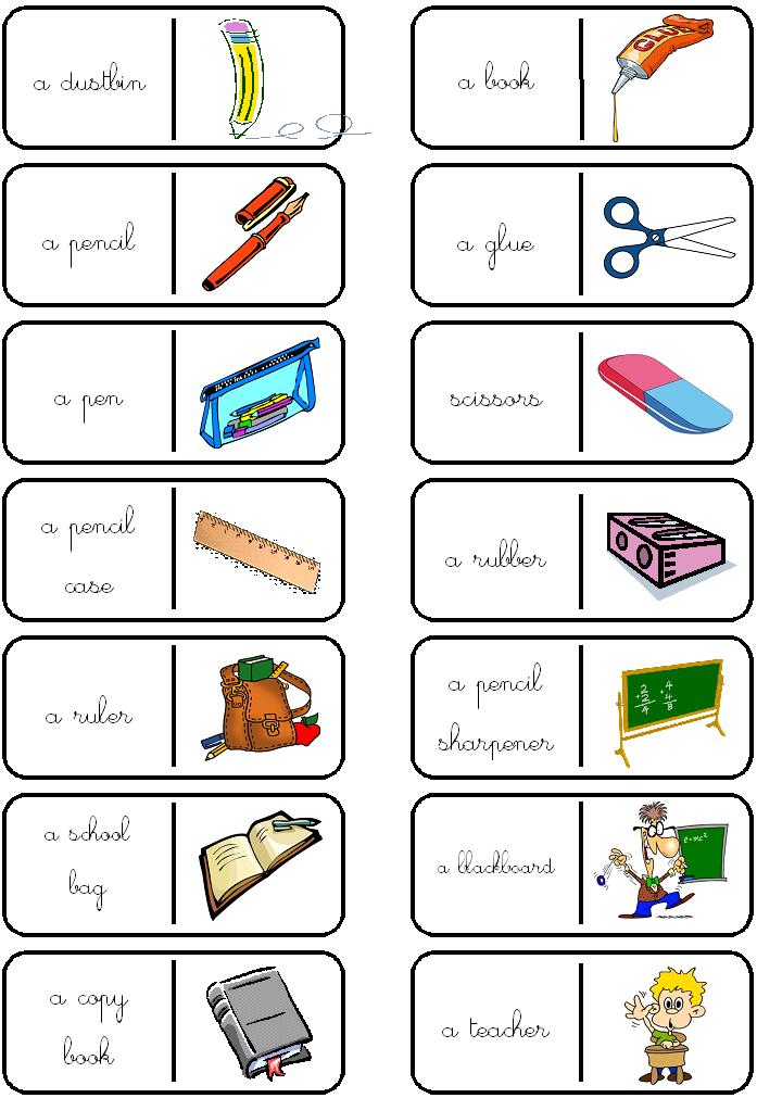 image dominos matériel de classe