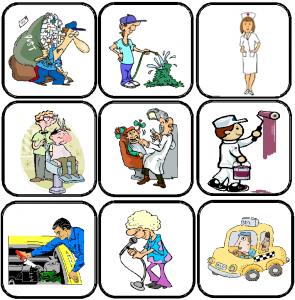 flashcards métiers jobs en anglais