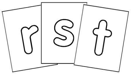 Lettres de l 39 alphabet affichage ou fabrication de cartes - Lettres alphabet originales ...