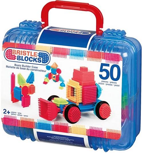 Jeu d'assemblage Bristle Blocks type CLIPO