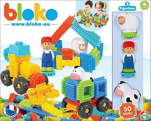 Jeu de construction Bloko assemblage CLIPO