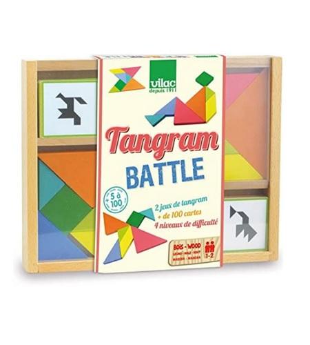 Jeu de plateau tangram battle