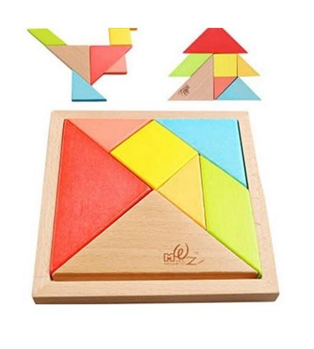 Puzzle tangram en bois à acheter