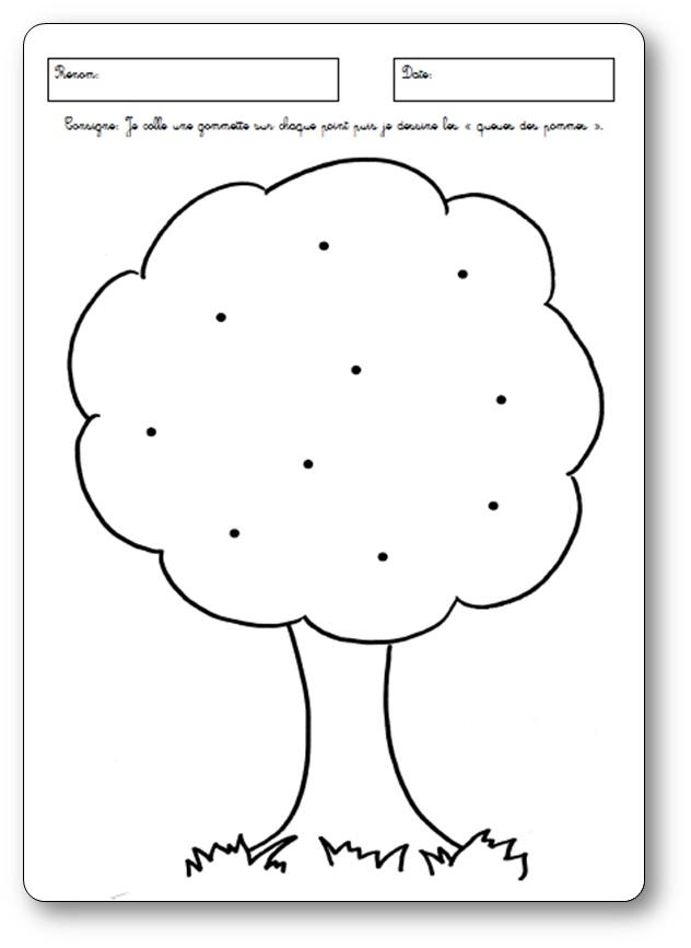 Famous Fiches sur les pommes pour des élèves de maternelle. Activités pomme KM98