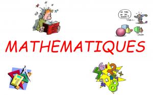 image affiche le coin des mathématiques