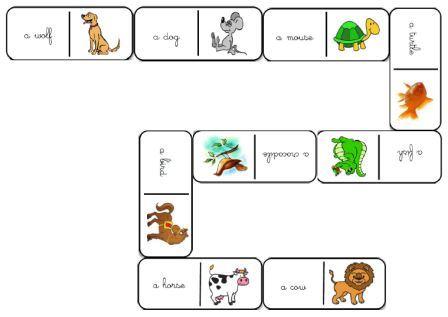 les animaux en anglais aux cycles 2 et 3 flashcards le ons m mory. Black Bedroom Furniture Sets. Home Design Ideas