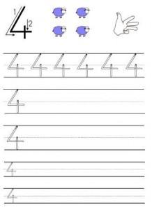 Ecriture Des Chiffres De 0 A 9 En Maternelle