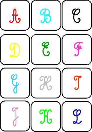 jeu de mmory des lettres en maternelle jouer avec les lettres de lalphabet - Lettre Majuscule A Imprimer