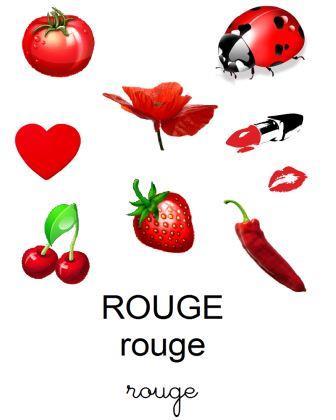 image référentiel couleurs affiche A4 avec objets