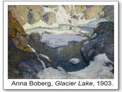 Anna Boberg Glacier Lake