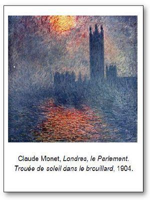 Claude Monet Londres le Parlement