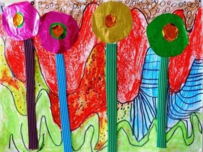 Friedensreich Hundertwasser production d'élève