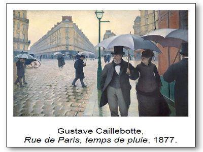Gustave Caillebotte Rue de Paris temps de pluie