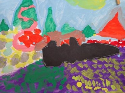 Vassily Kandinsky Murnau production d'élève
