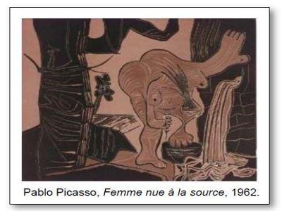 Pablo Picasso Femme nue à la source