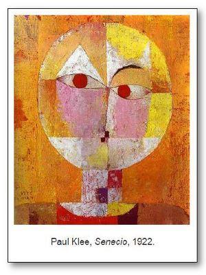 Paul Klee Senecio