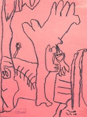 Pablo Picasso Femme nue à la source production d'élève