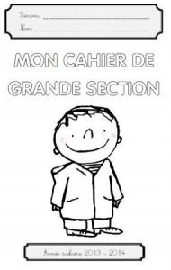 image page de garde maternelle GS l'Ecole de Léon