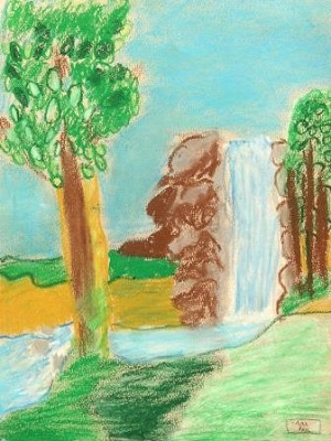 Michallon Achille Etna La cascade production élève