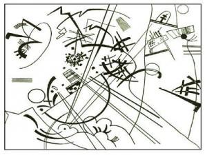 Coloriage Vassily Kandinsky