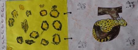 Abécédaire animaux lettre J jaguar