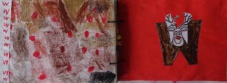 Abécédaire animaux lettre W wapiti