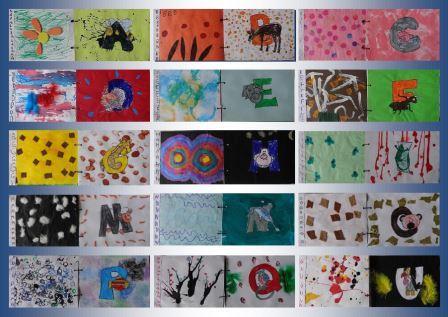 image abécédaire des animaux productions d'élèves