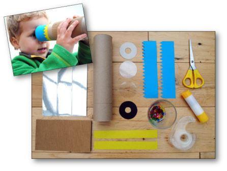 Fabriquer un kaléidoscope lien vers idee-creative.fr