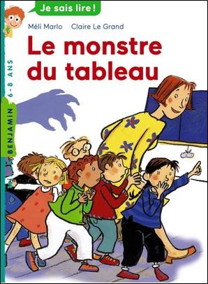Le monstre du tableau de Méli Marlo et Claire Le Grand