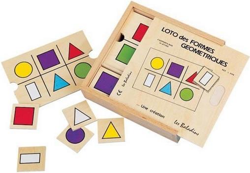 Loto des formes géométriques JB Bois